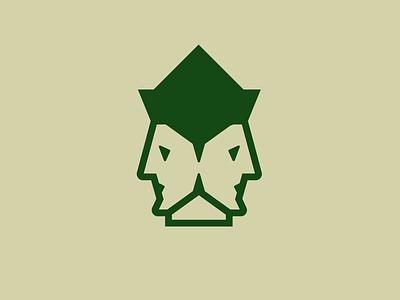 WIP Janus Brandmark gods mythology faces heads icon logo brandmark wip janus
