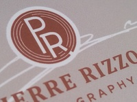 Pierre Rizzo Photography Logo