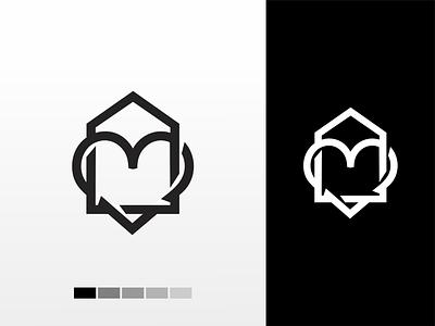 love house logo akdesain logo branding minimal negative space logo design monogram house logo home mortgage houses real love house