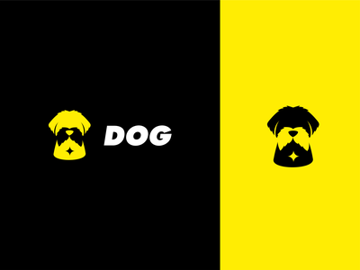 maltese dog logo akdesain branding illustration minimal creative negative space logo design dog logo puppy dogs animal dog maltese