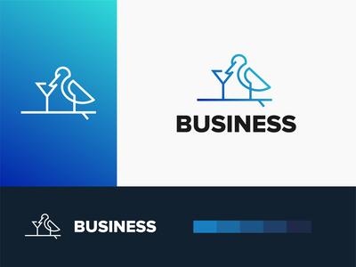bird logo akdesain logo branding minimal negative space logo design bird logo bird illustration fly bird
