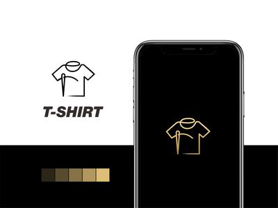 tshirt line logo branding akdesain logo minimal creative tailor logo design negative space line lineart tshirts tshirt design tshirt