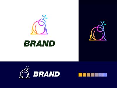 sumo bomb logo akdesain creative logo minimal typography logo design negative space influencers marketing influencer marketing follow bomb sumo influencer