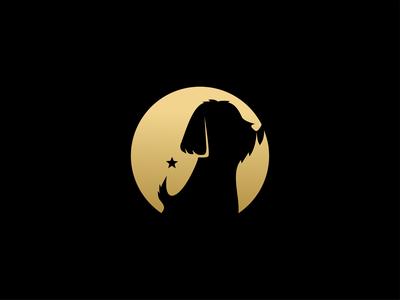maltese star dog logo akdesain design branding minimal logo design negative space star dogs puppy maltese dog logo