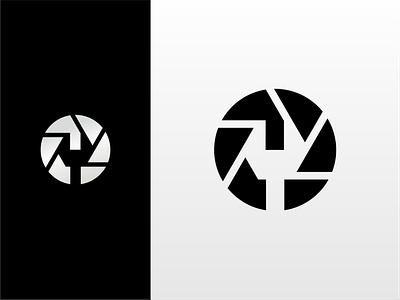Camera Service lense akdesain logo illustration branding creative logo design minimal negative space fixedgear fix repair services service