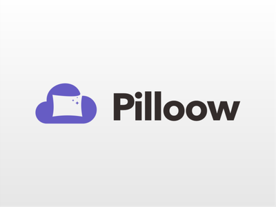Cloud Pillow logo logo type logo akdesain creative branding logo design illustration minimal negative space dream pillow cloud logo sleep sleep logo cloud pillow logo