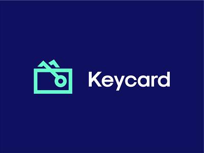 Key card creative branding akdesain logo type minimal negative space logo design keynote card wallet logo card logo key logo keycard