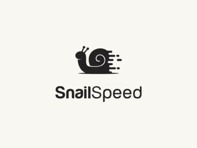 Snails Speed Logo Template