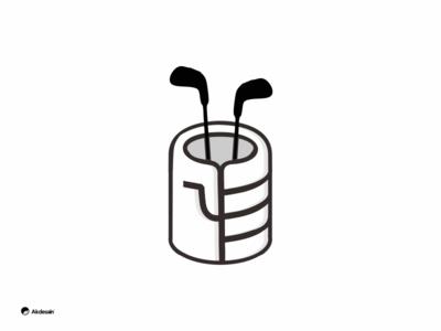 golf + hand