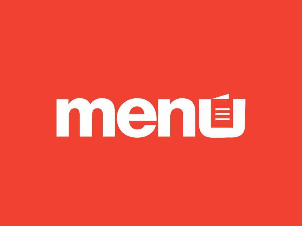 Menu  211/365 akdesain modern design illustration logo design logo type lettering typography booklet minimal negative space cafeteria restaurant cafe menus menu bar menu design menu card menubar menu