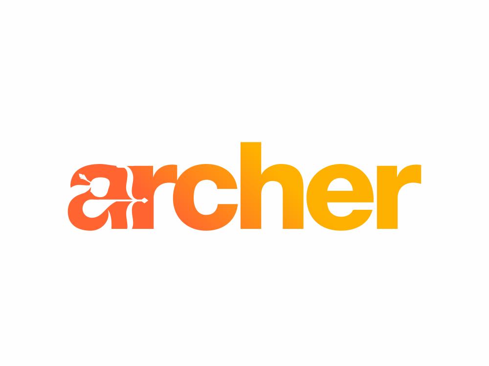 Archer 250/365 akdesain modern icon typography lettering branding design logo creative logo design illustration logo type minimal negative space artwork archer logo archery archer