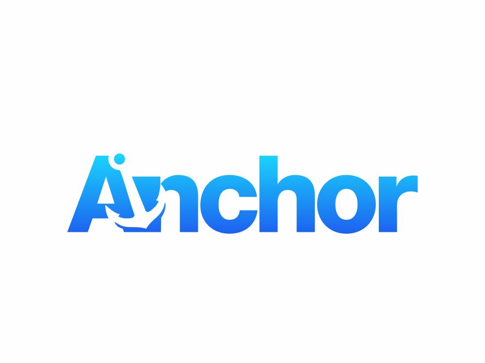 anchor  282/365 logos symbol clean modern akdesain illustration creative logo minimal vector typography negative space logo type logo design lettering anchorman anchor logo anchors marine anchor