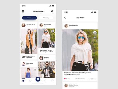 Fashion Blogger App