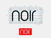 Noir: Custom Logotype.