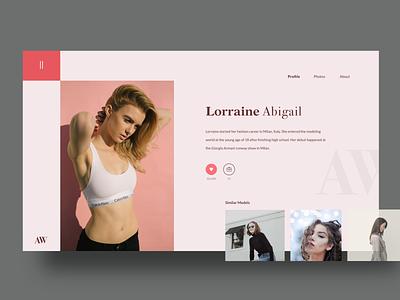 AW Portfolio Rebound uidesign concept uiux typography clean design ui minimalist
