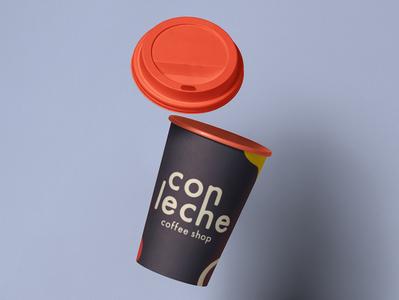 Con Leche Branding