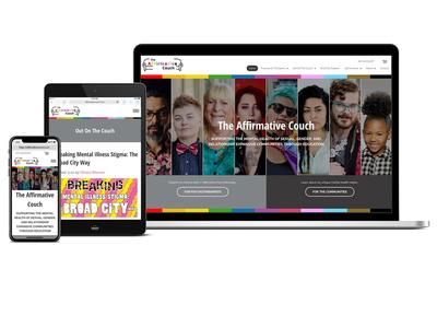 Affirmative Couch Website Design
