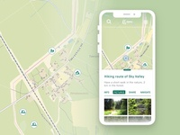 Map App for Hiking