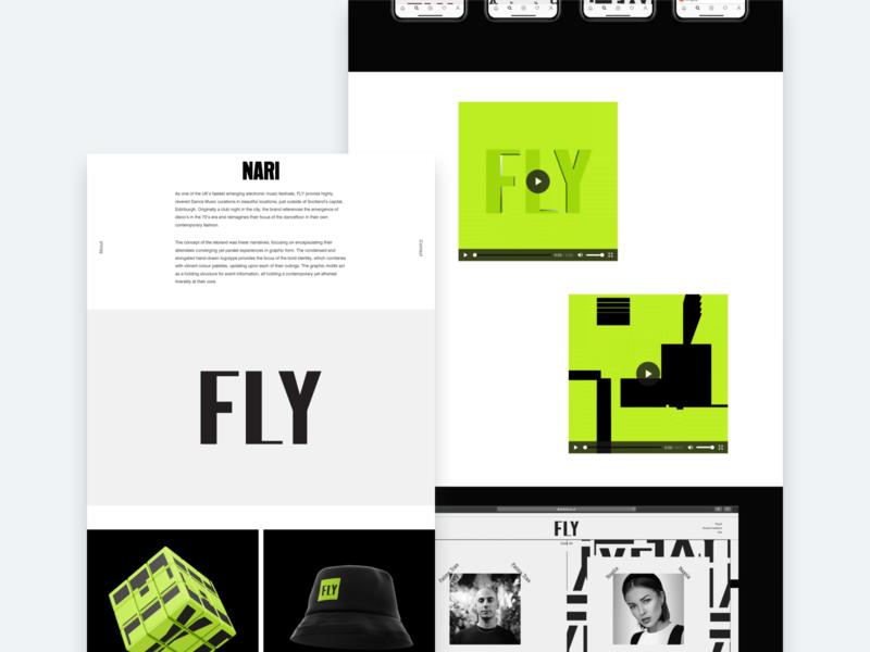 NARI Project Content Modules damn fine cms layout portfolio ux ui web