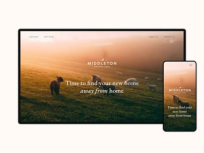 Middleton Holiday Park hospitality travel design ux ui web