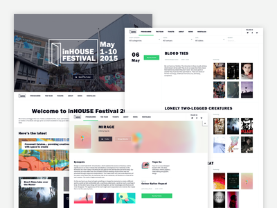inHouse Festival 2015 event fashion design arts film festival