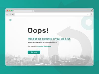WoNoBo Abandonment Page