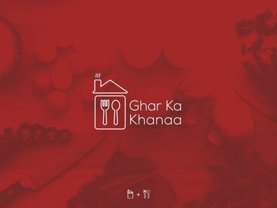 Brand Identity for Ghar ka khanaa