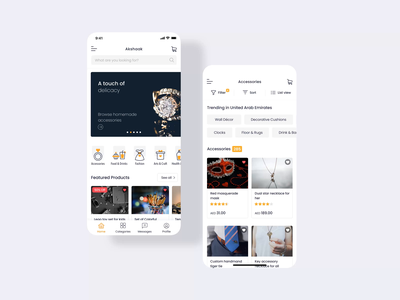 Product Details | Marketplace UI / UX Design logo mobile animation ios android app clean delivery icon cart product page marketplace ecommerce home screen home details ux product