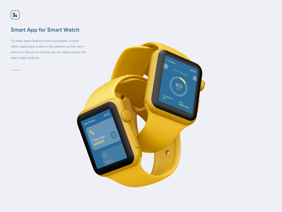 Aero Fitness | Smart Watch App minimal design interaction web illustration chart vector illustration vector product design internetofthings iot calories tracking apple watch watch apple iwatch app animation fitness
