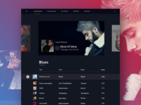 Playlist Manager with Dark Theme