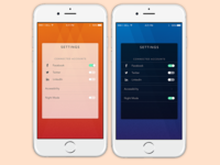 Daily UI - Day 7 - Settings