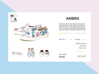 Daily UI - Day 12 - E Commerce Shop