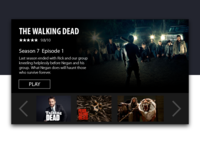 Day 25 - Daily UI - Tv App