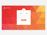 Axiau - Login Home Page