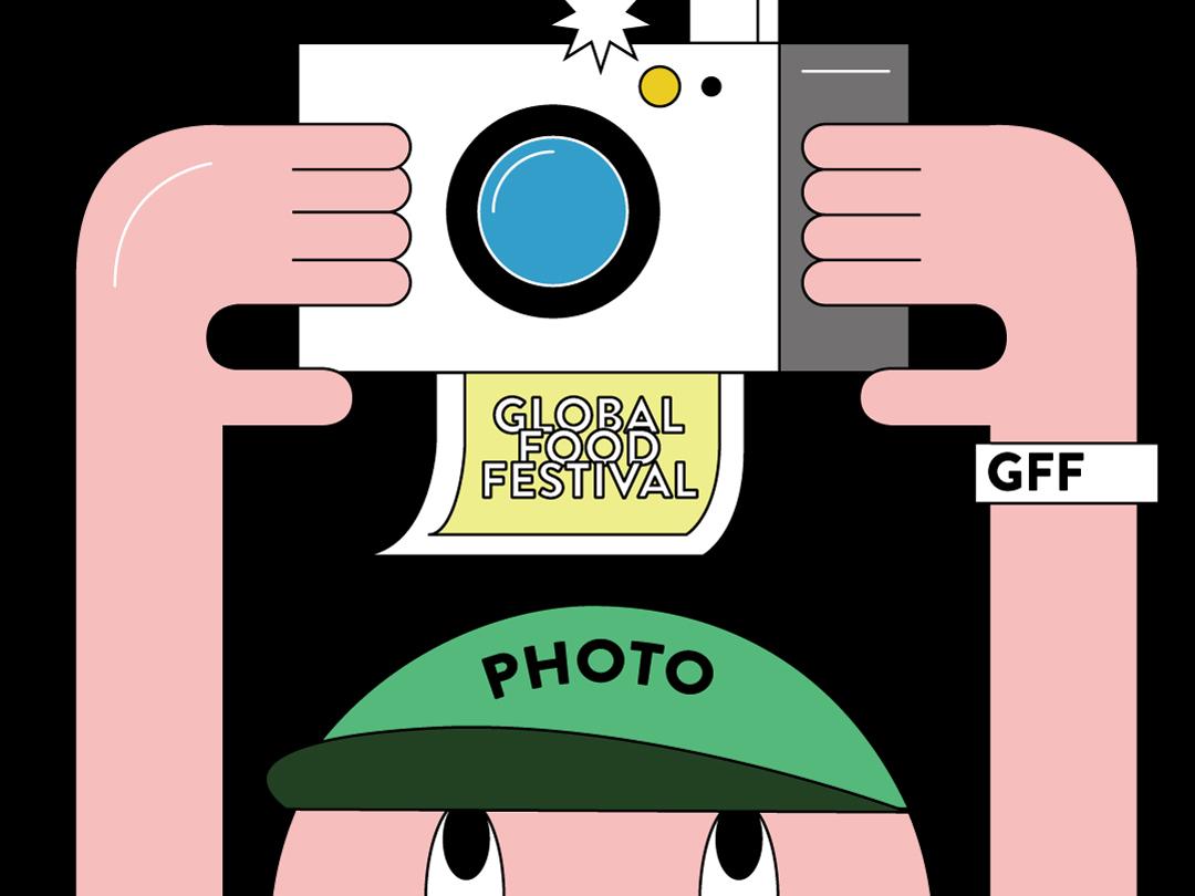 GFF photo design festival illustration