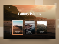 Canary Islands Landing Page