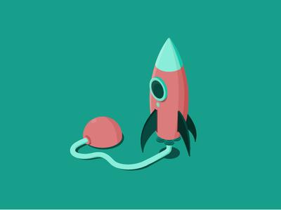 ecobee Black Friday Illustration - Rocket