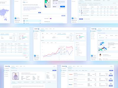 Comin affiliate system product design ui design ecommerce web displays uiuxdesign uiux web design webapplication webapp design webapp dashboard affiliate