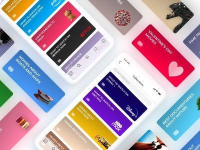 Raters Collections app application mobile app adaptiveweb webservice raters ui web design uiux collections