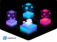 Impleum blockchain scheme