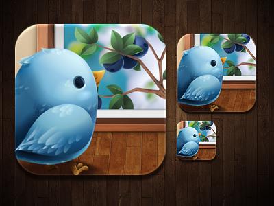 iPhone app - Scopy icon icon gui twitter bird ios iphone