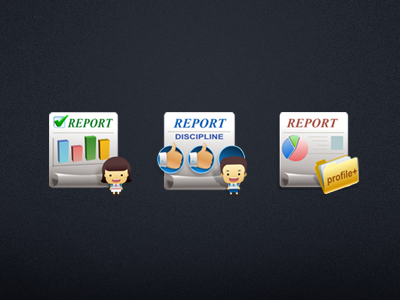 Report icon icon