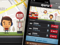 iphone app - Quru GUI (design v1)