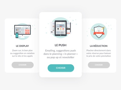 UI product cards