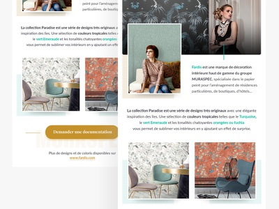 Email Template luxury decoration wall fashion email template email mailing