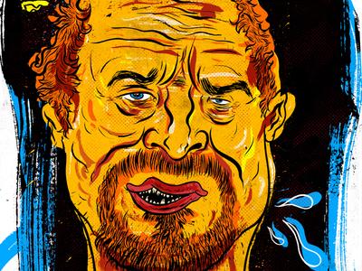 Kings Of Comedy #3 Louis C.K art ink illustration portrait louis c.k louie comedy