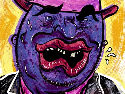 Kings of comedy #20 Patrice O'Neal illustration portrait editorial comedy patrice