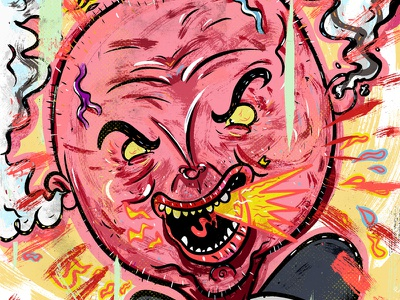 Kings of comedy #28 Bill Burr illustration portrait comedy bill burr