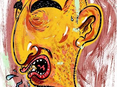 Kings of comedy #31 Ari Shaffir cartoon comedy art illustration portrait