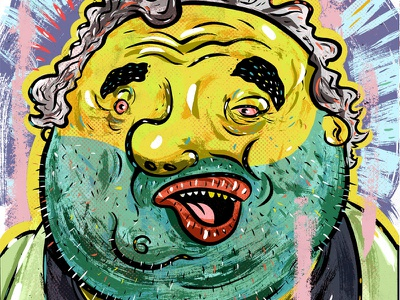 Kings of comedy #32 Artie Lange illustration portrait art comedy